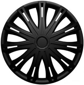 Universal Radzierblende Radkappe Schwarz 17 Zoll Für Viele Fahrzeuge Passend Auto