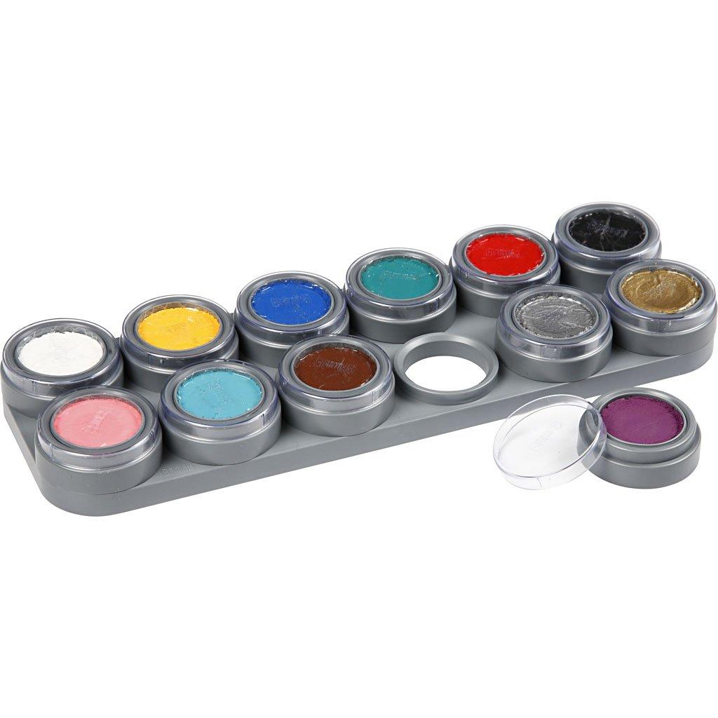 Grimas 12 Colour Face Painting Palette A (struts-6014) (maquillaje/ pintura