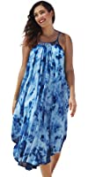 swimsuitsforall Women's Shibori Kite Dress