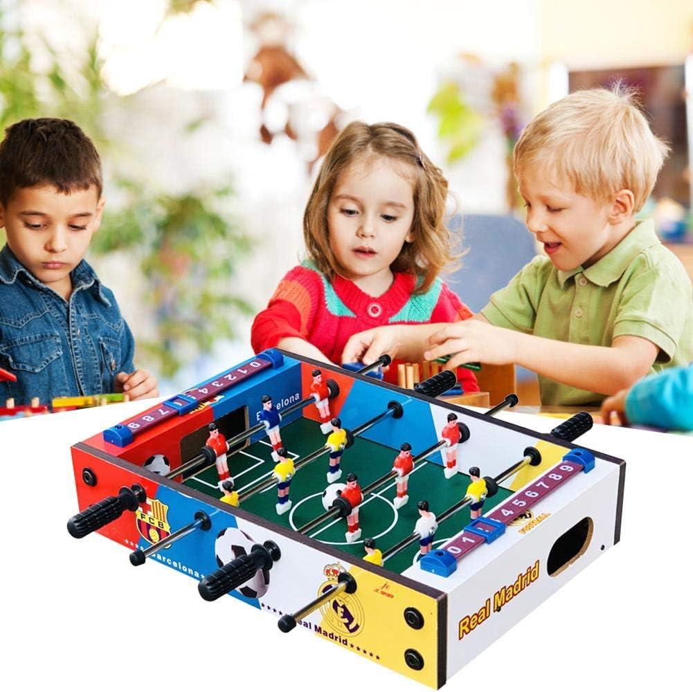 MezoJaoie Table Football, Mini Tabletop Soccer Game Foosball Soccer Game Table, Foosball Table Top Football Football Kids Family Game Juego de juguetes: Amazon.es: Hogar