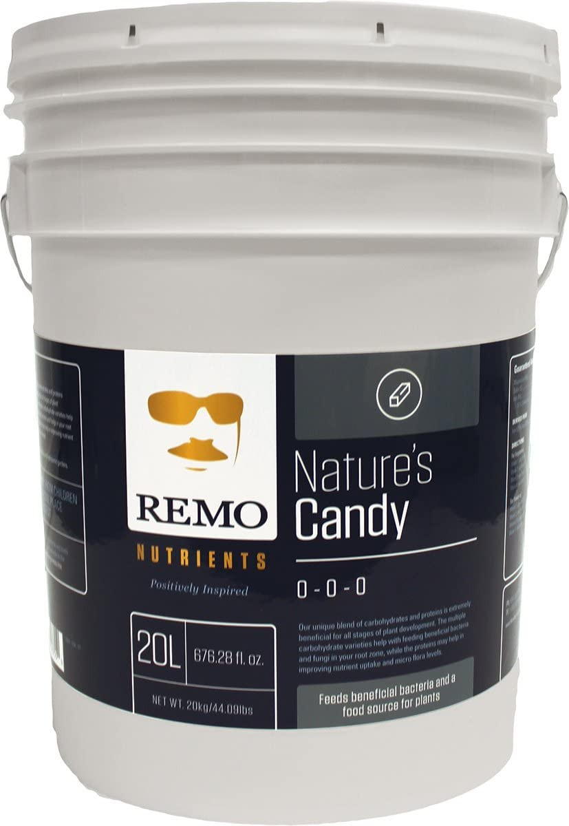 Remo Nutrients RN71550 Remo Nature's Candy 20L Nutrient, White