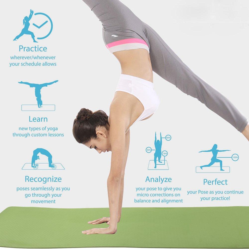 Amazon.com: Esterilla de yoga antideslizante Eco Friendly ...