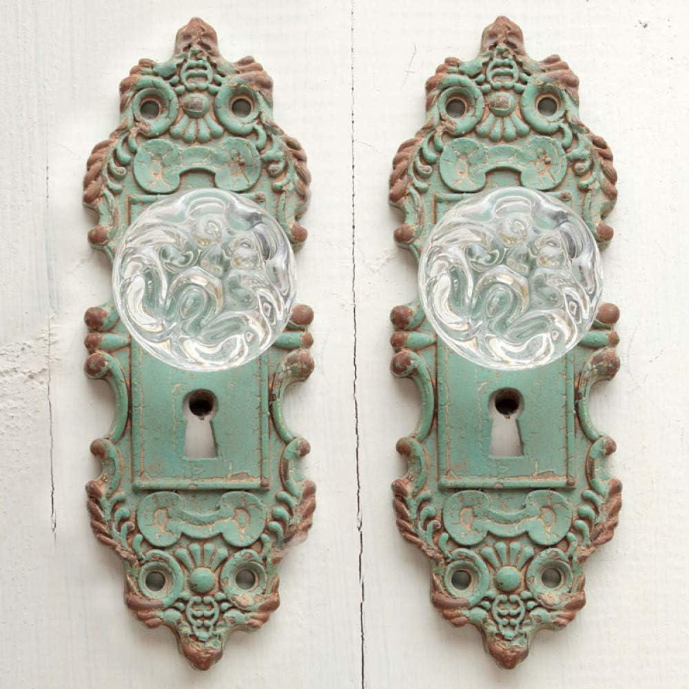 Green Frog Shape Antique Vintage Style Handmade Brass Door Knocker Home Decor