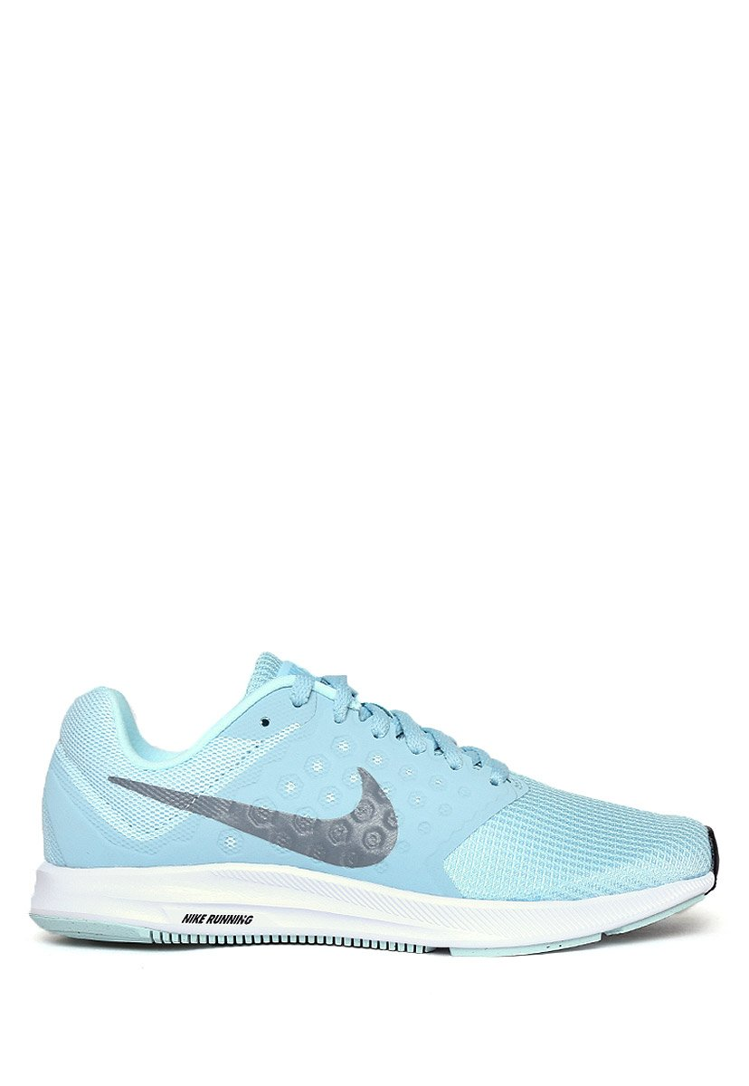 NIKE Womens Wmns Downshifter 7 B071F23SNT 5.5 B(M) US|Glacier Blue Cool Grey Black