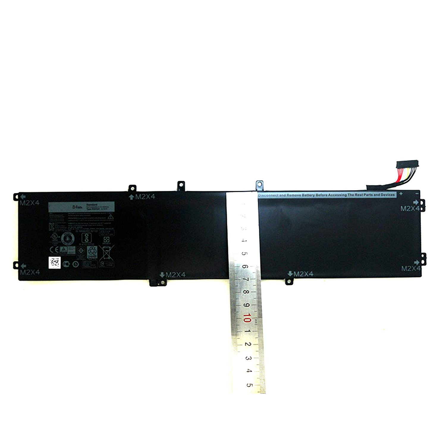 Dentsing 4GVGH Laptop Battery Replacement for Dell XPS 15 9550 Precision  5510 5000 Series 1P6KD 01P6KD 84Wh