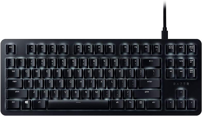 Razer BlackWidow Lite (Orange Switch),Teclado, US - Interruptores Silenciosos, Negro