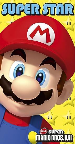Super Mario Bros Birthday Card With Stickers Amazon Toys