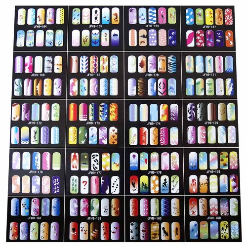 Paasche Airbrush Nail Stencils, 200 Designs for sale  Delivered anywhere in USA