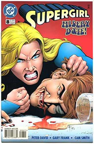 SUPERGIRL #8, NM, Good Girl, Peter David, 1996, Misery Date, more DC in store (Best Dates In Dc)