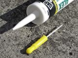 Caulk Cap CCY-2, 2-Pack, Yellow