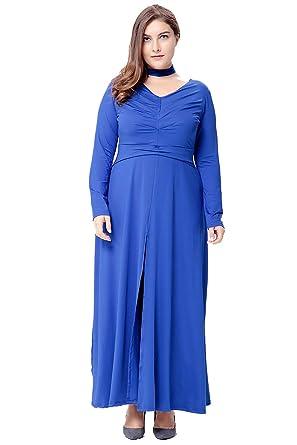 dfa36ab6654 Shangrui Women s Plus Size Casual Dress