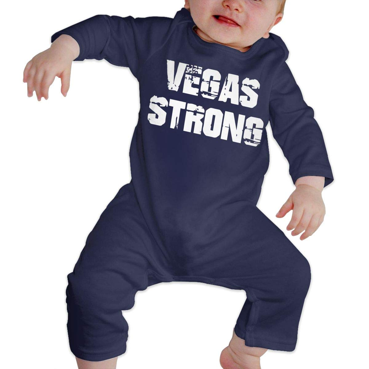 Vegas Strong1 Newborn Infant Baby Girls Long Sleeve Romper Jumpsuit Outfits Clothes