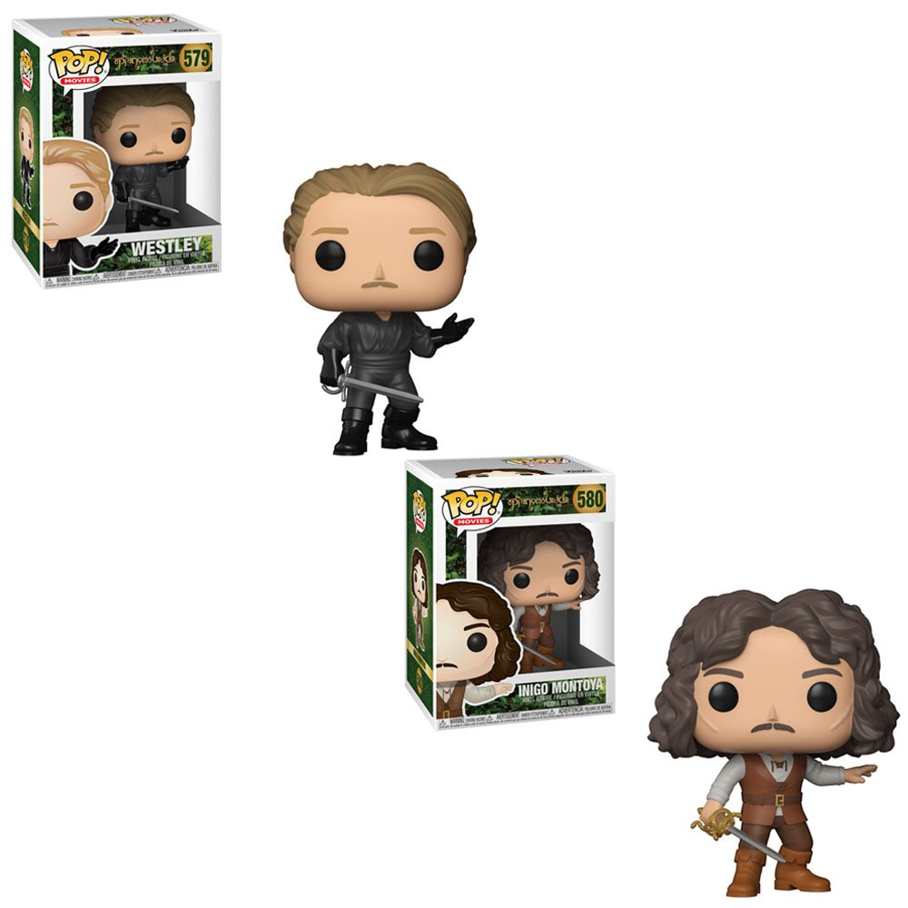 Amazon.com: Funko POP! Movies The Princess Bride: Westley and Inigo Montoya Toy Action Figure - 2 POP BUNDLE: Toys & Games