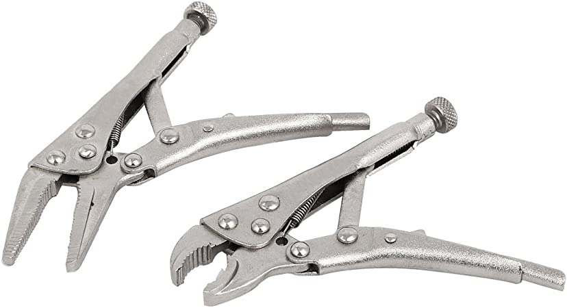 "STRAIGHT JAW LOCKING PLIER WRENCH JAW MOLE GRIPS TOOL PLIERS DIY TOOLS 10/"" INCH"