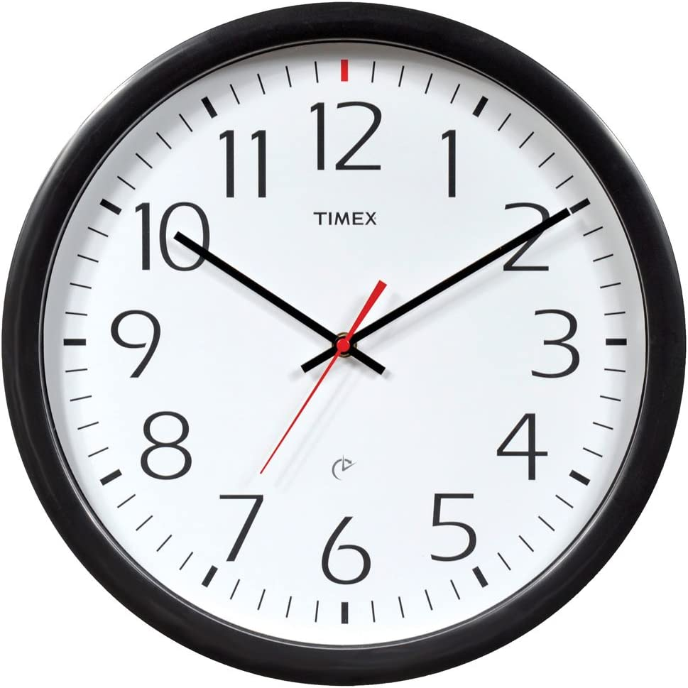 Timex 46004t Juego y olvídate de Reloj de Pared, 35,6cm