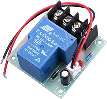 Amazon Com Yeeco 30a High Current 12v Contactor Relay Switch Power Switch Dc Power Switching Control Board Control Module Electrical Relay Switches For Cooler Heater Refit Water Heater Control Electronics