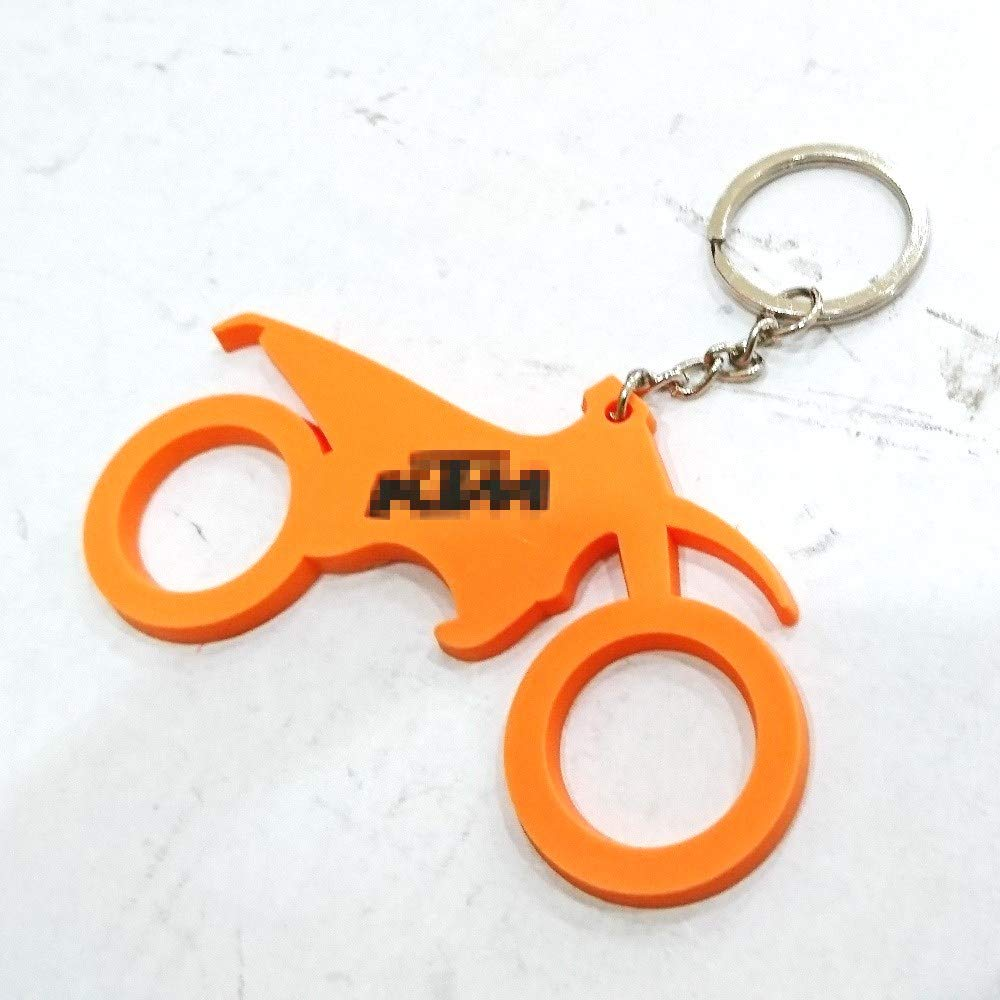 Motorcycle Bike Keychain For Aftermarket Universal Vehicle Car Motorcycle Bike Accessories For Example Sport Bike Street Bike Motocross Off Road Dirt ktm Style Rider Enthusiasts Fans Collection