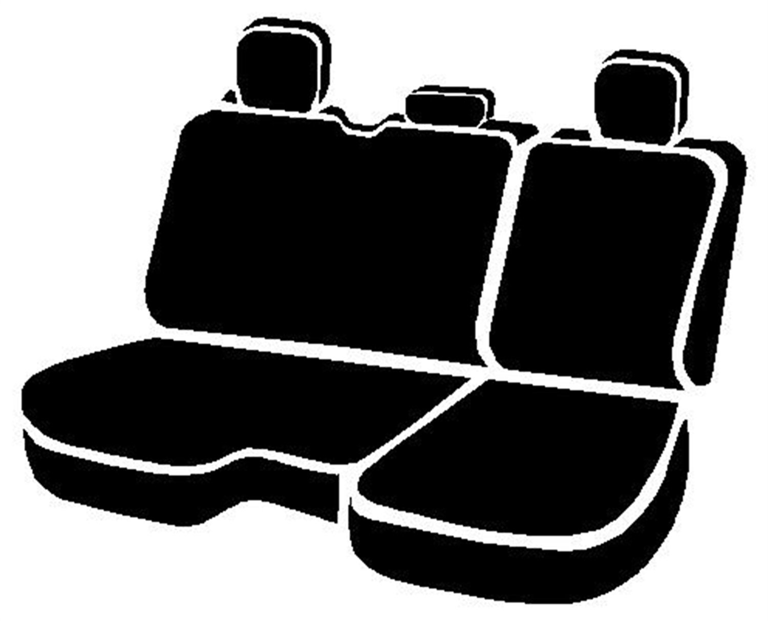 Saddle Blanket, Fia TR42-60 BROWN Custom Fit Rear Seat Cover Split Seat 40//60 Brown