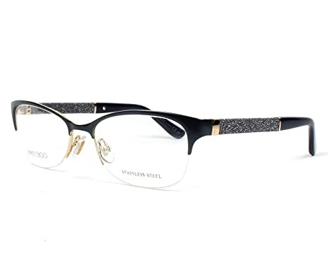 31edfbd15996 Image Unavailable. Image not available for. Color  JIMMY CHOO Eyeglasses 106  ...
