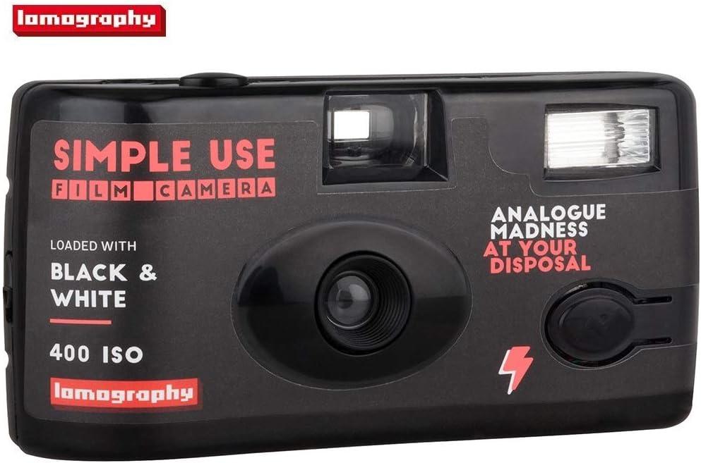 Lomography Simple Use Camera, Black and White Negative (SUC100BW) 61pQzfZbPyL