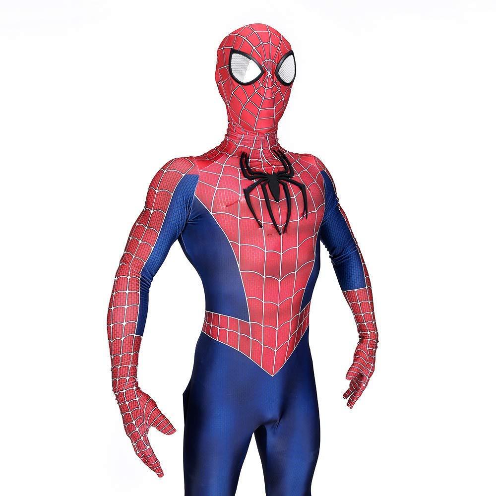 GFFLYY Traje de Spiderman Cosplay Estampado 3D Adulto Niños ...