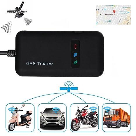 Localizador de Vehículo GPS, en tiempo real, GPS/GSM/GPRS