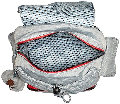 Kipling Damen City Pack S Rucksack Dazz Grey Str
