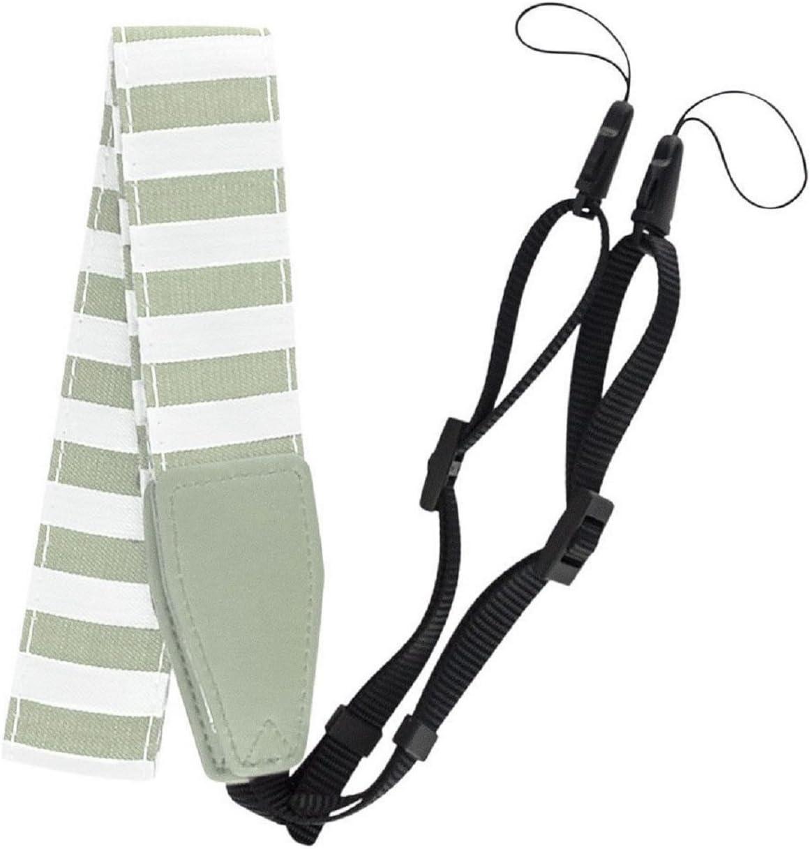 Striped Camera Strap For Neck Shoulder