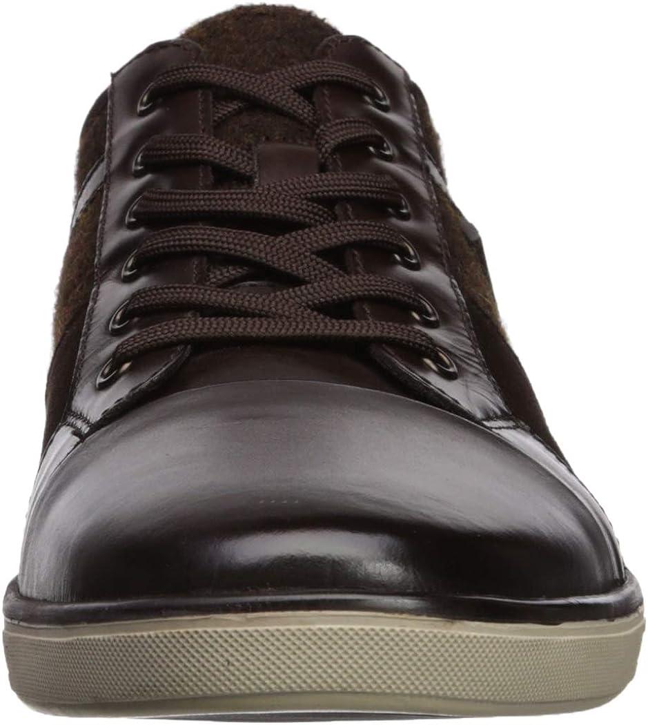 Kenneth Cole New York Men's Initial Step Sneaker Dark Brown