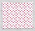 Supersoft Fleece Throw Blanket Polka Dots Home Collection Polka Dots Pattern Consisting of An Array of Filled Circles Pop Art Concept Pink Red White
