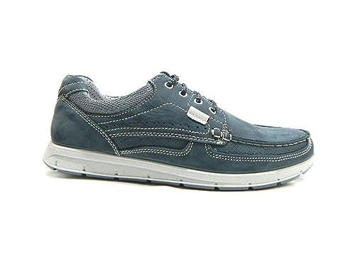 Borse 009 Amazon it Sneakers Uomo E 102460 Blu Camoscio 3019 Imac Scarpe Oqwp77P