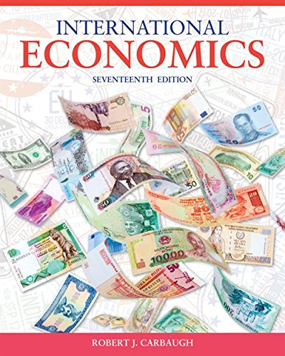 International Economics by Cengage Learning