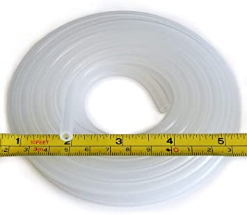 "x 1//4/"" O.D Pure Silicone Tubing High Temp Hose 1//8/"" I.D 5 Feet increments"