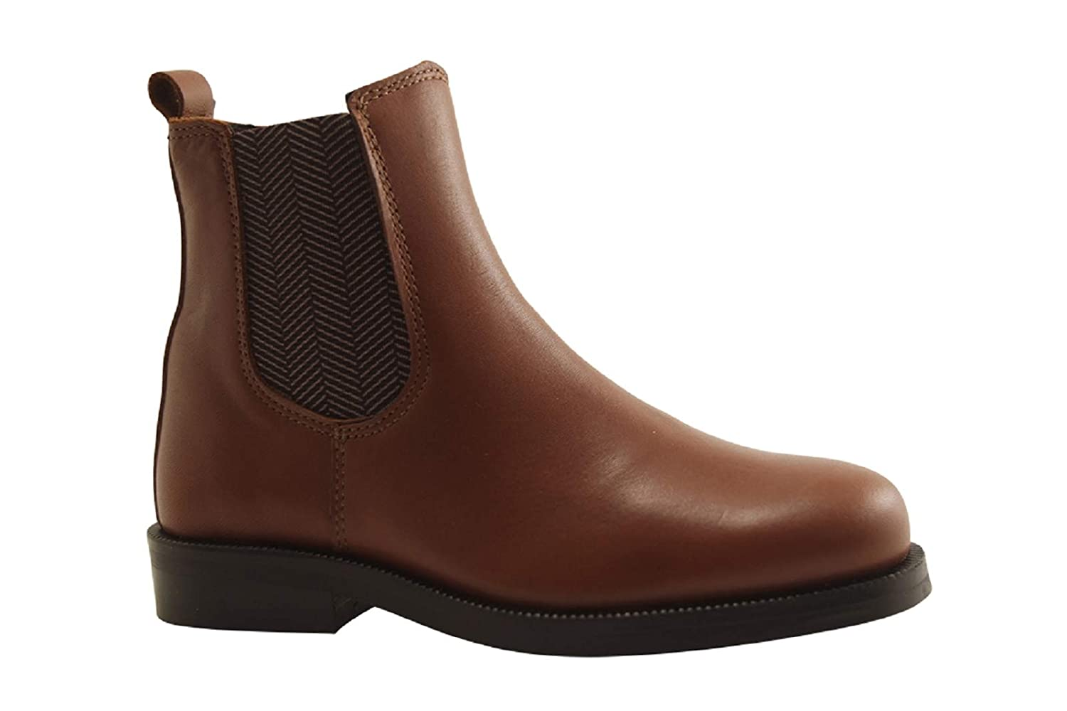 Little Mary Kid Shoe - Toby - Boots - Cognac