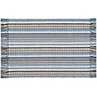 C&F Home Serenity Woven Area Rug, Small/2 x 3, Blue