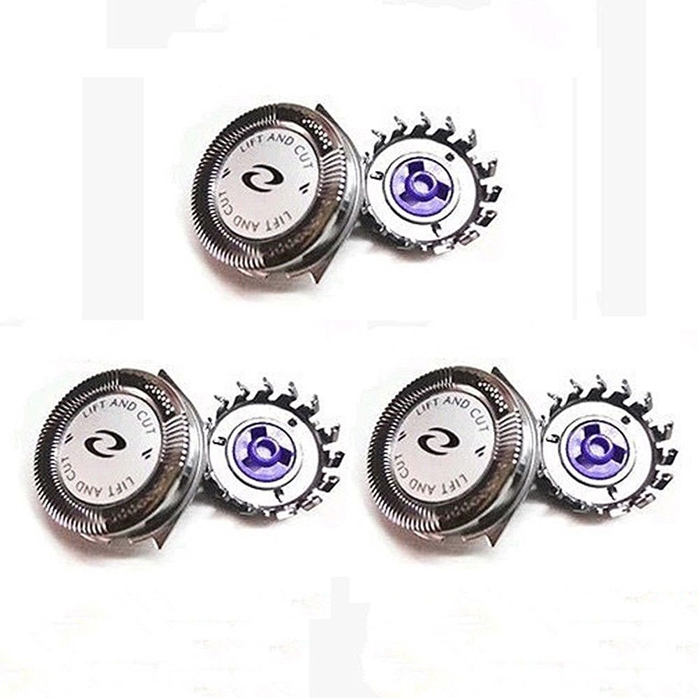 NEW! Replacement Shaver Heads Fit Norelco Philips HQ8 Spectra, Sensotec, Precision
