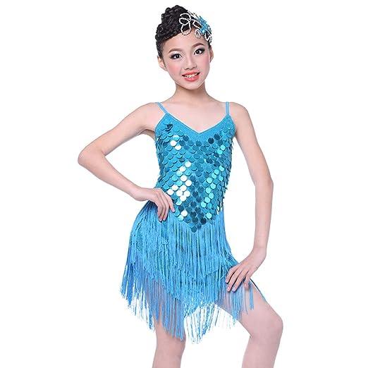 JIE. Disfraz de Baile Latino para niños Traje de Verano para Mujer ...