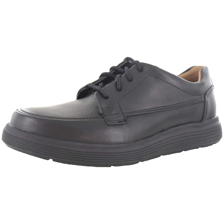 TALLA 40 EU. Clarks Onu Morada Facilidad para Hombre Cuero Casual con Encaje Zapatos