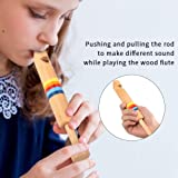Dilwe Wooden Flute, Wooden Fipple Piccolo Flute