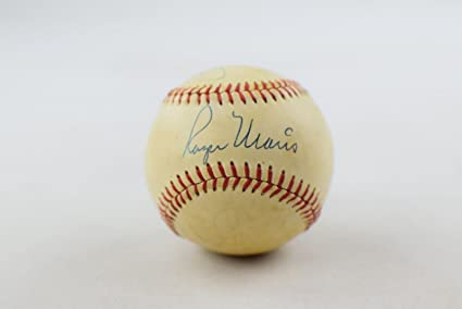 71ee4358f Mickey Mantle & Roger Maris Dual Signed Ny Yankees Baseball jsa - PSA/DNA  Certified