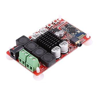 TDA7492 Receptor de Audio de 50W + 50W Tarjeta de Amplificador de ...