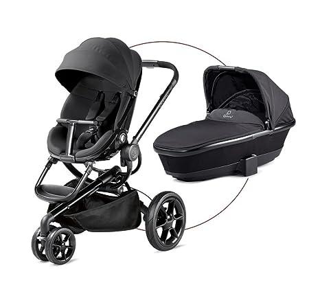 Quinny Moodd – Carrito de bebé – Canasta para libre, color negro y gris