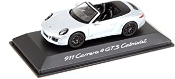 Porsche 911 991 Carrera GTS Cabrio Weiss Ab 2011 1//18 Schuco Modell Auto mit ode