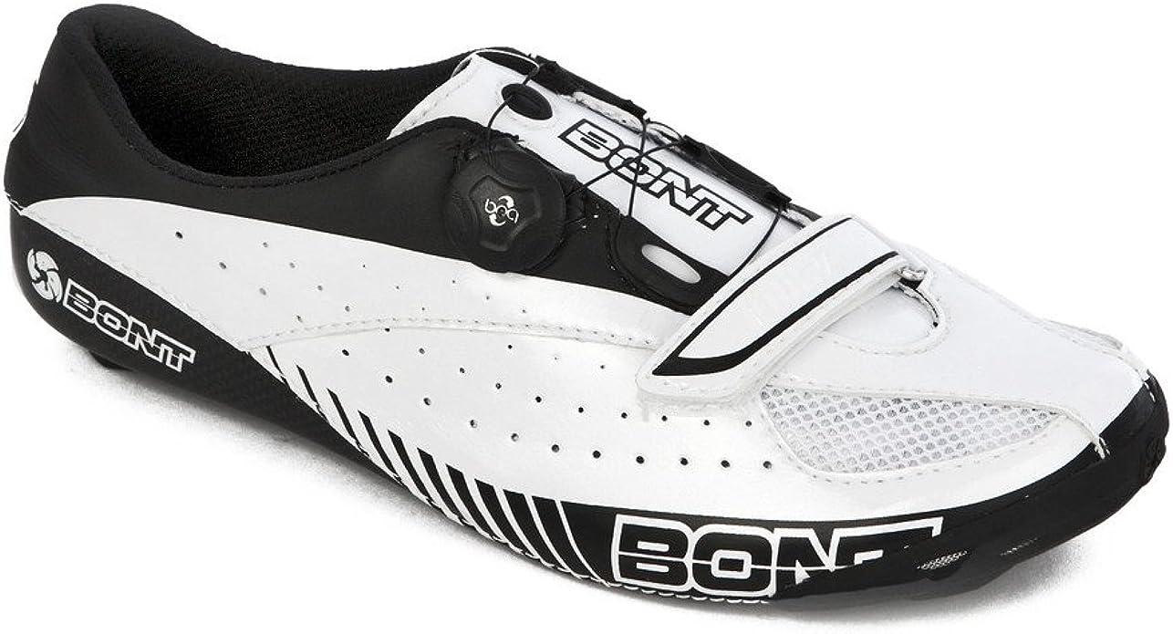 Bont Unisex-Erwachsene Rennradschuhe Blitz Radsportschuhe 42 EU Weiss