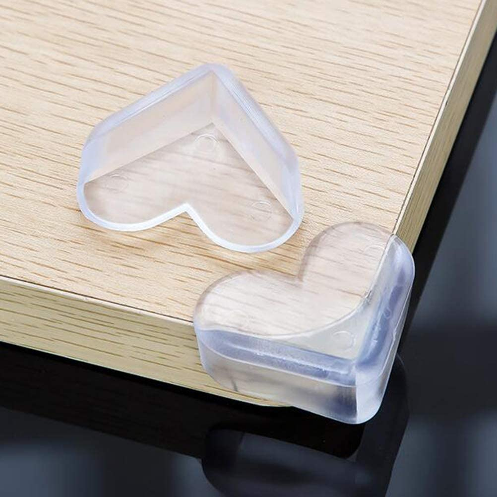 TOPBATHY 8pcs Corner Protectors//Baby Proof Corner Guards//Table Corner Edge Protector,Tables Furniture Sharp Corners Baby Proofing