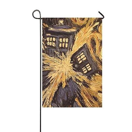 2e660392f7b5 Amazon.com   Doctor Who - Van Gogh s Exploding Tardis Pattern ...