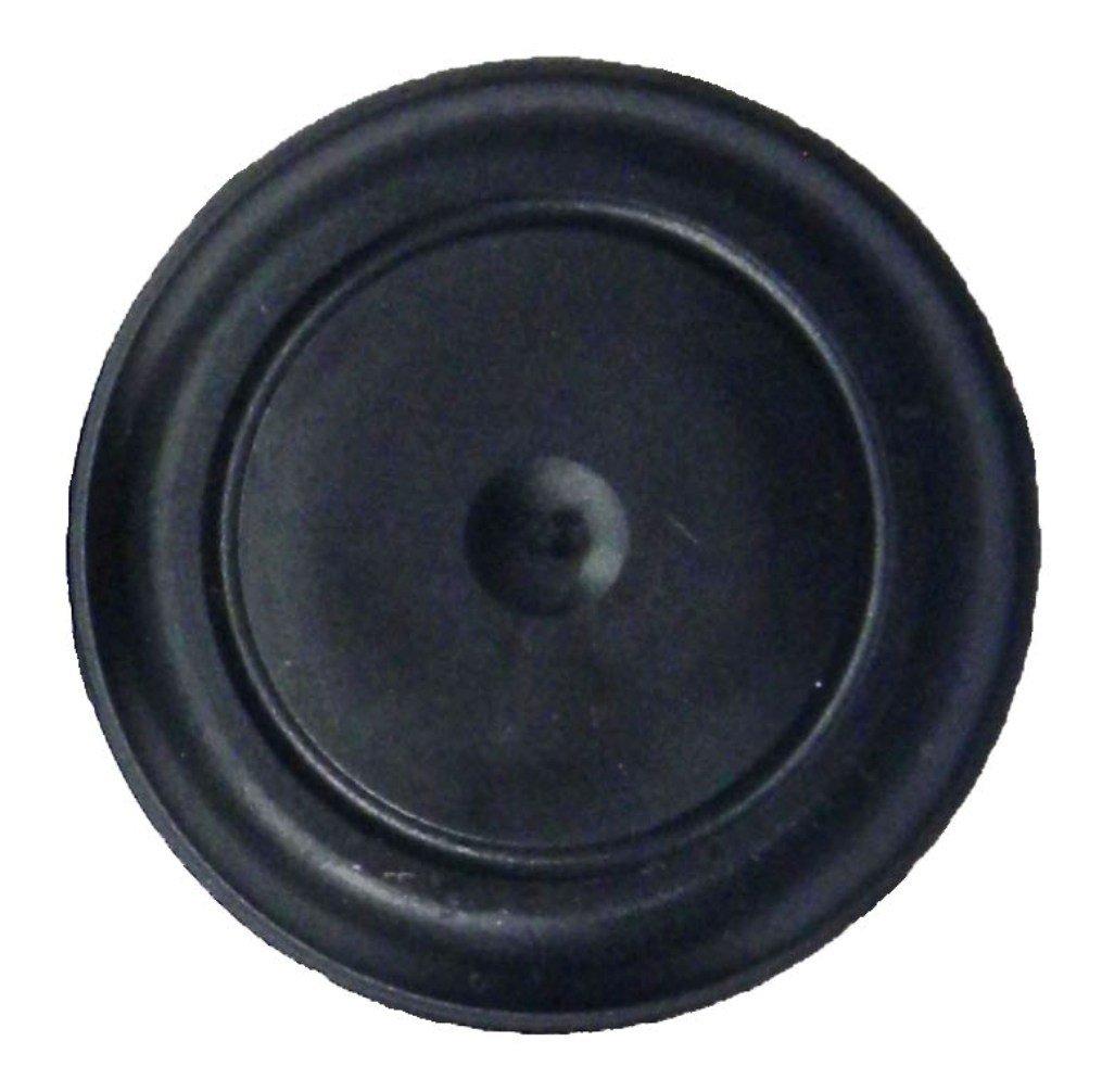 25/mm negro tap/ón de goma para montaje empotrado cuerpo y hoja de metal orificios Qty 1