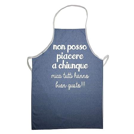 Magie Di Casa Delantal De Cocina Vaqueros Con Frases