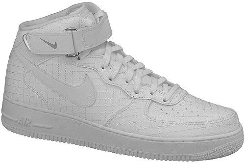 purchase cheap 73fad 92e98 Nike Air Force 1 Mid  07 LV8, Scarpe da Basket Uomo, Bianco (