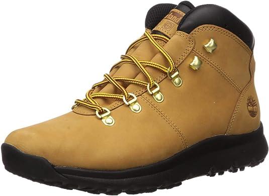 World Hiker Leather Hiking Boots für Herren in Braun